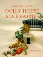 Easy to make dolls' house accessories PDF