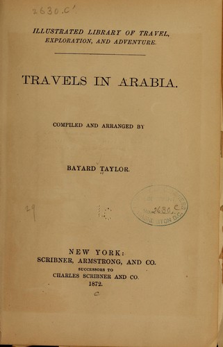 Download Travels in Arabia.