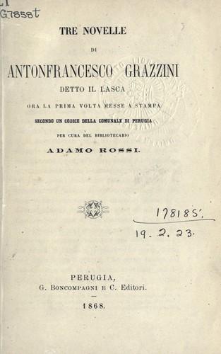 bol.com | Tre Novelle Inedite, Pietro Fortini ...