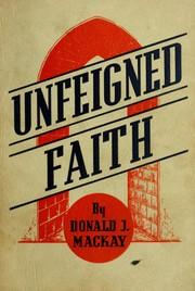Unfeigned faith PDF