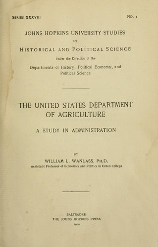 Download The United States Department of Agriculture