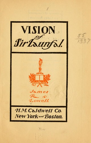 Vision of Sir Launfal.