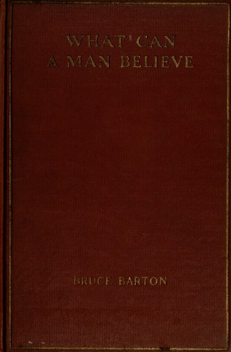 Download What can a man believe?