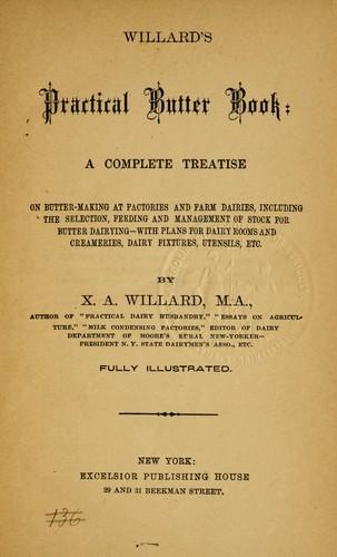 Willard's practical butter book