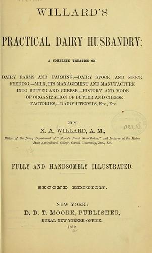 Willard's practical dairy husbandry