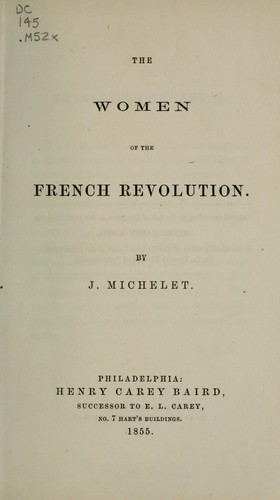 Download The women of the French Revolution.