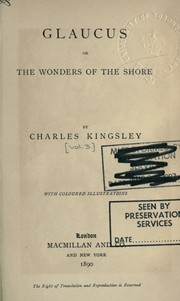 Cover of: [Works] by Charles Kingsley