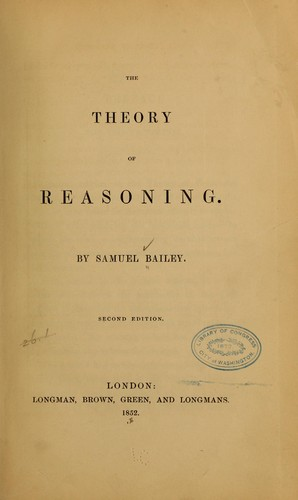 The theory of reasoning.