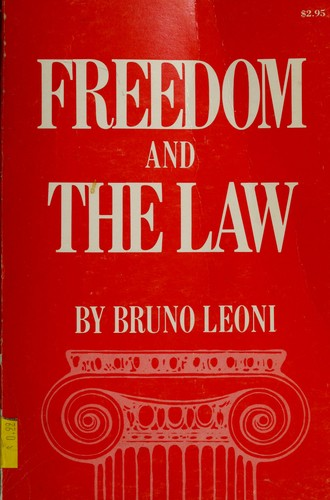 Freedom and the law.