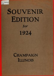 Souvenir edition for 1924, Champaign, Illinois by