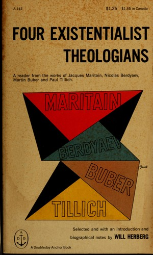 Download Four existentialist theologians