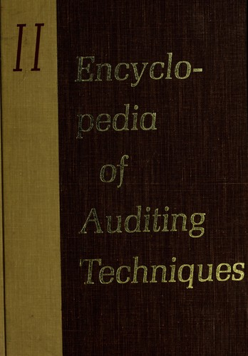 Download Encyclopedia of auditing techniques