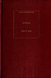 Ethics, an annotated bibliography PDF