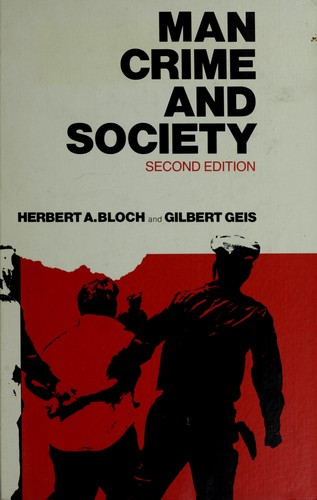 Download Man, crime, and society