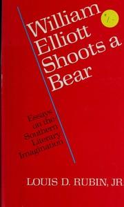 William Elliott Shoots a Bear PDF