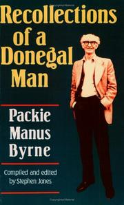Recollections of a Donegal man by Packie Manus Byrne
