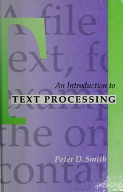 An introduction to text processing PDF