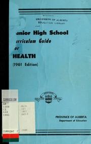 Junior high school curriculum guide for health PDF