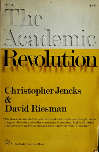 Download The academic revolution