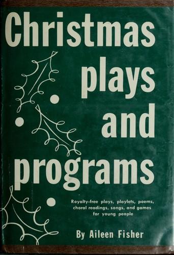 Christmas plays, and programs