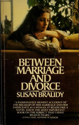 Between marriage and divorce