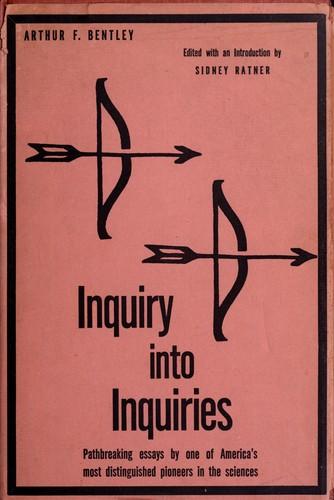 Inquiry into inquiries