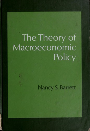 Download The theory of macroeconomic policy.