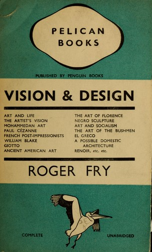 roger fry formalism an essay in aesthetics