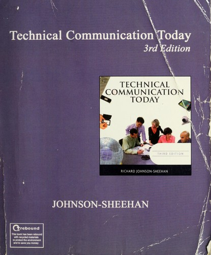 Download Technical communication today