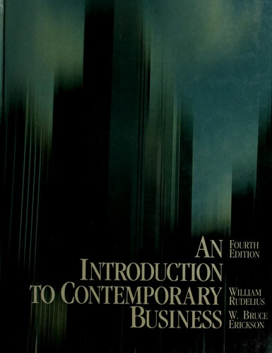 An introduction to contemporary business