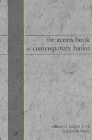 Acorn Book of Contemporary Haiku