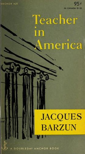 Teacher in America.