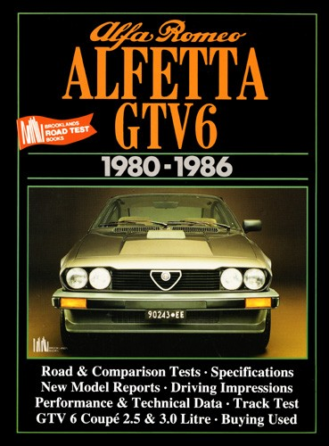 Alfa Romeo Alfetta GTV6, 1980-86 by R.M. Clarke