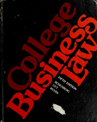 Download College business law