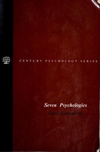 Seven psychologies
