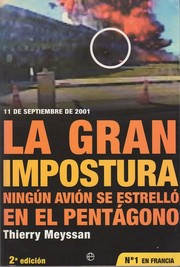 Cover of: La gran impostura by Thierry Meyssan