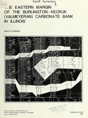 The eastern margin of the Burlington-Keokuk (Valmeyeran) carbonate bank in Illinois PDF