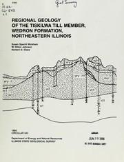 Regional geology of the Tiskilwa Till Member, Wedron Formation, northeastern Illinois PDF