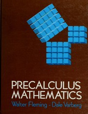 Precalculus mathematics by Walter Fleming