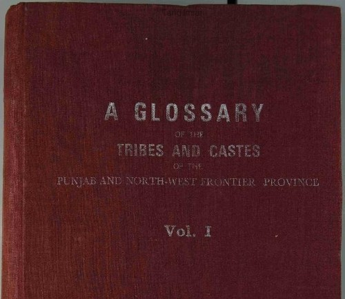 Download A glossary of the tribes and castes of the Punjab and North-West frontier province.