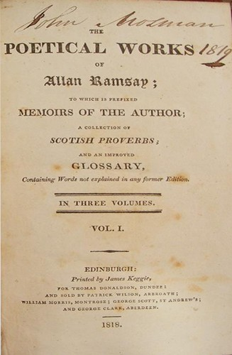 The poetical works of Allan Ramsay