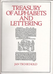 Cover of: Treasury of alphabets and lettering by Tschichold, Jan