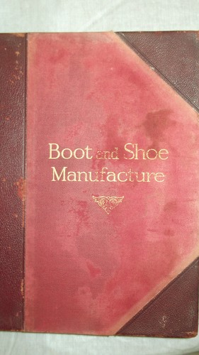 Boot and shoe manufacture.