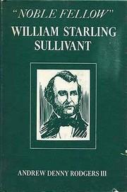 Noble fellow: William Starling Sullivant PDF