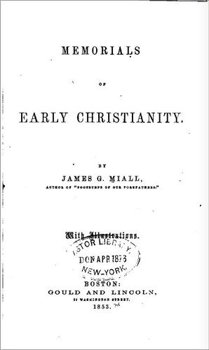 Download Memorials of early Christianity