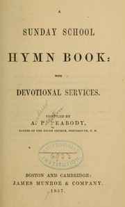 A Sunday school hymn book by
