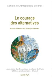 Le courage des alternatives by Christoph Eberhard