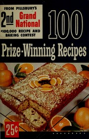 Cover of: 100 prize-winning recipes by adapted for your use by Ann Pillsbury.