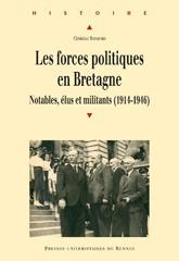 Les forces politiques en Bretagne.