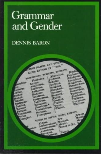Grammar and Gender